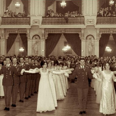Officers' Ball in the sixties