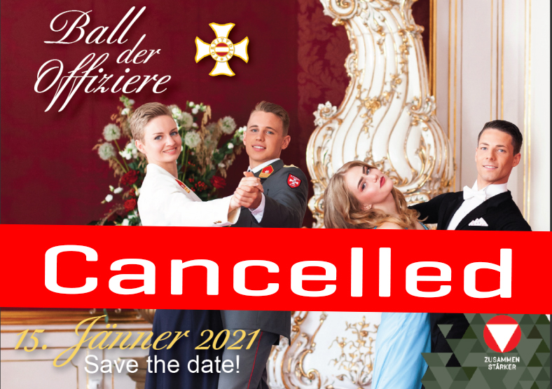 Cancelled – The Officers' Ball 2021